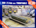 Heljan 89121 Scale: 1:76, OO Operating Turntable (DCC Ready)